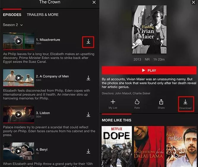 How To Download Netflix Movies and TV Shows