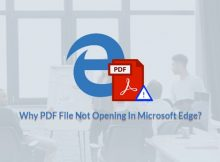 PDF File Not Opening In Microsoft Edge